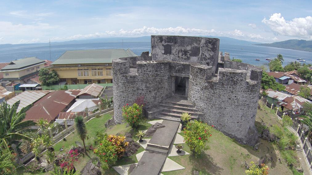 Peninggalan Sejarah di Maluku Benteng Tolukko Peninggalan Portugis